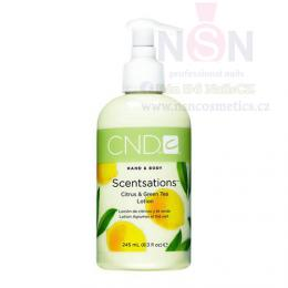 Krém CND SCENTSATIONS™ LOTION CITRUS & GREEN TEA 245ml