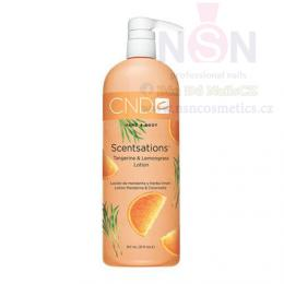 Krém CND SCENTSATIONS™ LOTION TANGERINE & LEMONGRASS 917ml