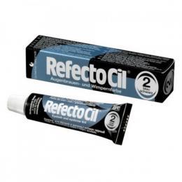 RefectoCil Barva na øasy a oboèí è. 2 - Modro-èerná 15 ml