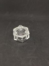 Miska sklenìná na pudr - maly