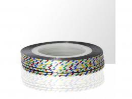 samolepící zdobící páska na nehty - 1ks