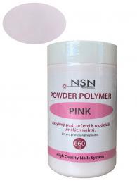 NSN akrylový pudr 660g - PINK