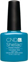 CND SHELLAC™ - UV COLOR - CERULEAN SEA 0.25oz (7,3ml) - zvìtšit obrázek