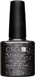CND SHELLAC™ - UV COLOR - DARK DIAMONDS 0.25oz (7,3ml) - zvìtšit obrázek