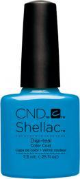 CND SHELLAC™ - UV COLOR - DIGI-TEAL 0.25oz (7,3ml) - zvìtšit obrázek