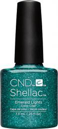 CND SHELLAC™ - UV COLOR - EMERALD LIGHTS 0.25oz (7,3ml) - zvìtšit obrázek