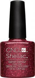 CND SHELLAC™ - UV COLOR - GARNET GLAMOUR 0.25oz (7,3ml) - zvìtšit obrázek
