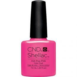 CND SHELLAC™ - UV COLOR - HOT POP PINK 0.25oz (7,3ml) - zvìtšit obrázek