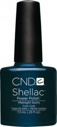CND SHELLAC™ - UV COLOR - MIDNIGHT SWIM 0.25oz (7,3ml) - zvìtšit obrázek