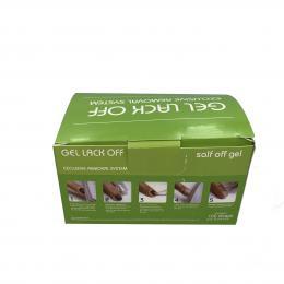 Fólie pro odstranìní gel laku (remover foil) 100ks