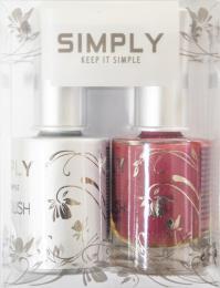 SET  Barevné gel laky +  Barevné laky 15ml SIMPLY