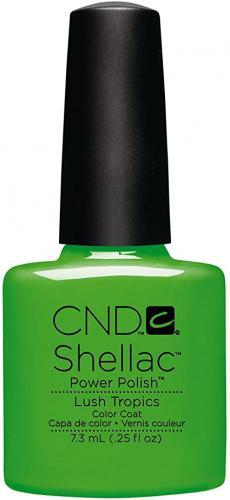 CND SHELLAC™ - UV COLOR - lush tropics 0.25oz (7,3ml) - zvìtšit obrázek
