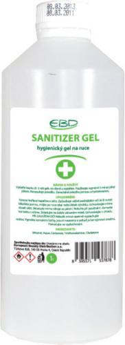 SANITIZER GEL - hygienický gel na ruce s vysokým obsahem alkoholu 1L - zvìtšit obrázek