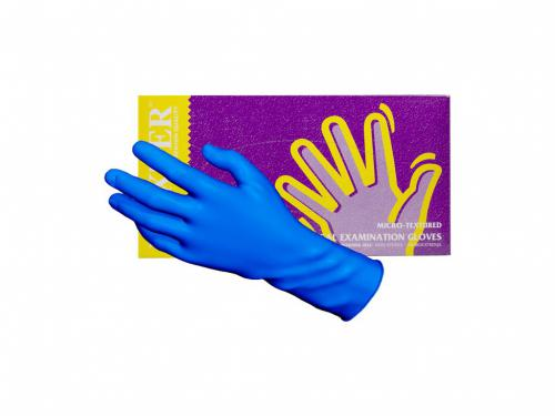 nitrilové rukavice bez pudru MAXTER blue