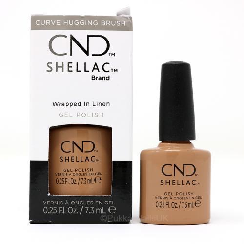 CND SHELLAC™ - UV COLOR - Wrapped in Linen 0.25oz (7,3ml) - zvìtšit obrázek