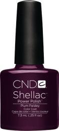 CND SHELLAC™ - UV COLOR - PLUM PAISLEY 0.25oz (7,3ml) - zvìtšit obrázek