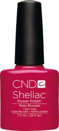 CND SHELLAC™ - UV COLOR - ROSE BROCADE 0.25oz (7,3ml)