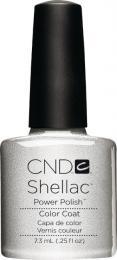 CND SHELLAC™ - UV COLOR - SILVER CHROME 0.25oz (7,3ml)