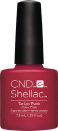 CND SHELLAC™ - UV COLOR - TARTAN PUNK 0.25oz (7,3ml) - zvìtšit obrázek
