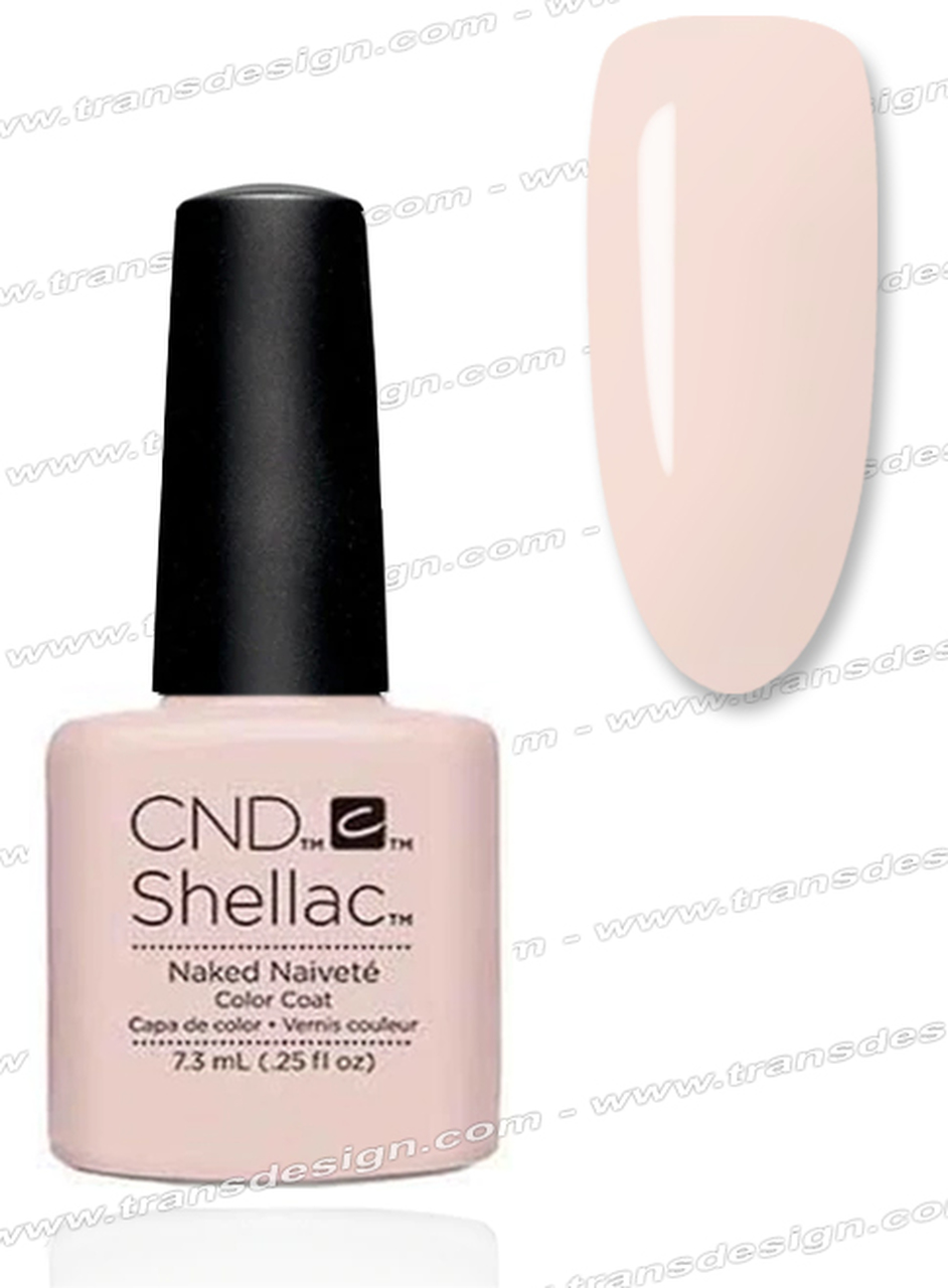 CND Shellac UV Gel Polish - NAKED NAIVETE 90857 7.3ml 0